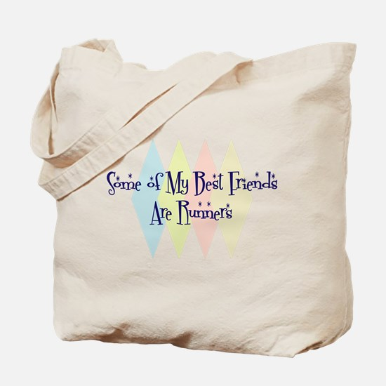 Runners Friends Tote Bag