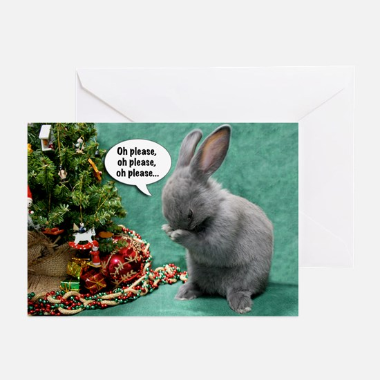 Baby Bunny Praying Christmas Cards (Pk of 20)