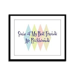 Rockhounds Friends Framed Panel Print