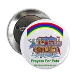 """Prayers For Pets 2.25"""" Button (10 pack)"""