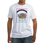 Prayers For Pets Fitted T-Shirt