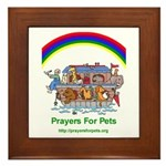 Prayers For Pets Framed Tile