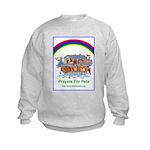 Prayers For Pets Kids Sweatshirt