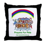 Prayers For Pets Throw Pillow