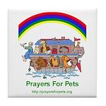 Prayers For Pets Art Tile