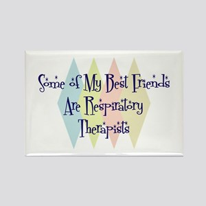 Respiratory Therapists Friends Rectangle Magnet