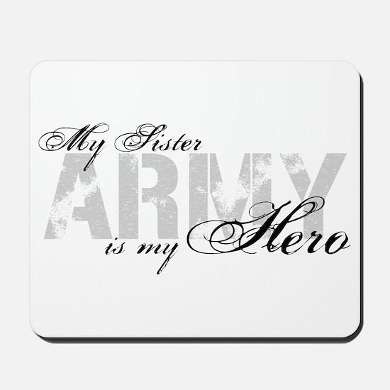 Sister is my Hero ARMY Mousepad