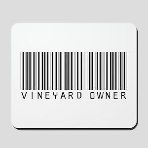 Vineyard Owner Barcode Mousepad