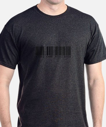 Video Game Dvlpr Barcode T-Shirt