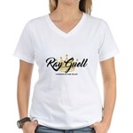 Ray Guell Women's V-Neck T-Shirt