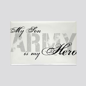 Son is my Hero ARMY Rectangle Magnet