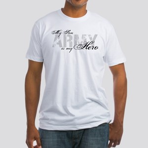 Son is my Hero ARMY Fitted T-Shirt