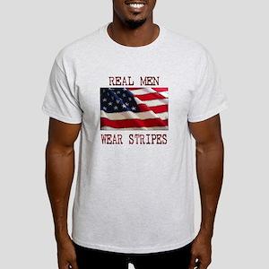 Real Men Wear Stripes Light T-Shirt