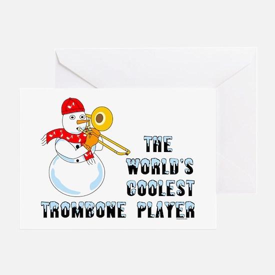 Coolest Trombone Greeting Card