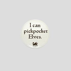 pickpocket elves Mini Button