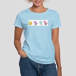 Sea Creatures Women's Light T-Shirt