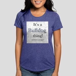 Bulldog Thing Ash Grey T-Shirt