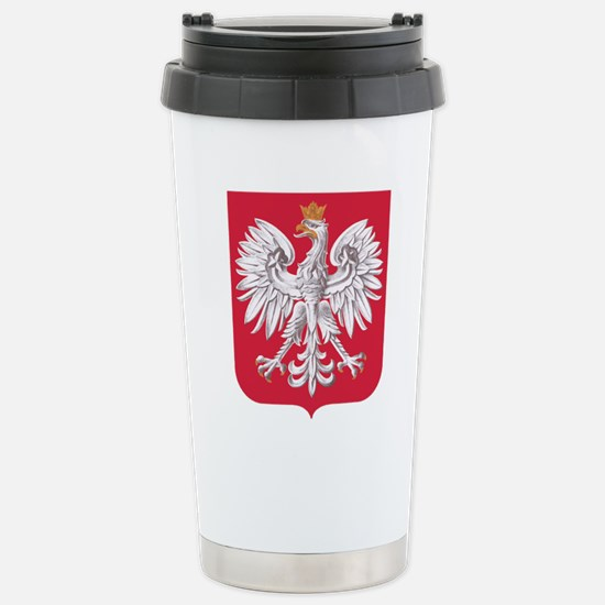 Polish Eagle Travel Mug
