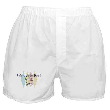 Postal Carriers Friends Boxer Shorts