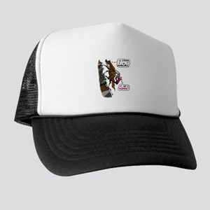 (I am)Woman on Trail Horse Trucker Hat