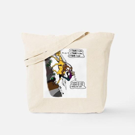 Uphill Trail - gal Tote Bag
