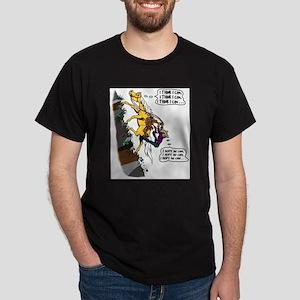 Uphill Trail - gal Dark T-Shirt
