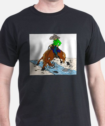 Trail Horse and Creek T-Shirt