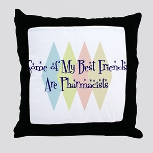 Pharmacists Friends Throw Pillow