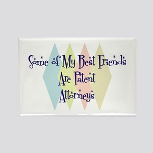 Patent Attorneys Friends Rectangle Magnet
