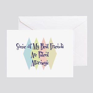 Patent Attorneys Friends Greeting Card