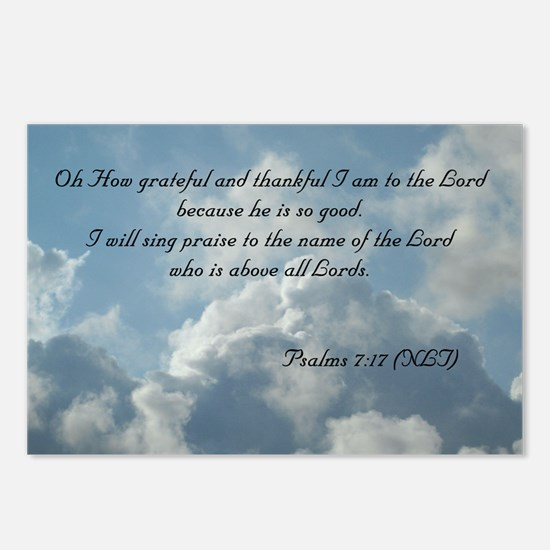 Psalms 7 Postcards (Package of 8)
