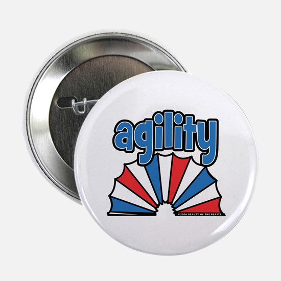 "Agility Tunnel Logo 2.25"" Button"