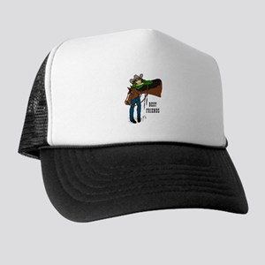 Girl and Horse - western Trucker Hat