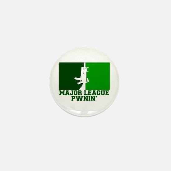 Major League Pwnin' Mini Button