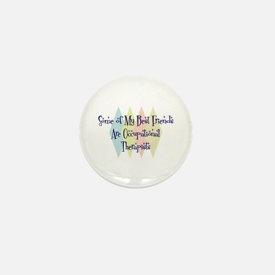 Occupational Therapist Friends Mini Button
