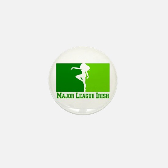 Major League Irish Mini Button