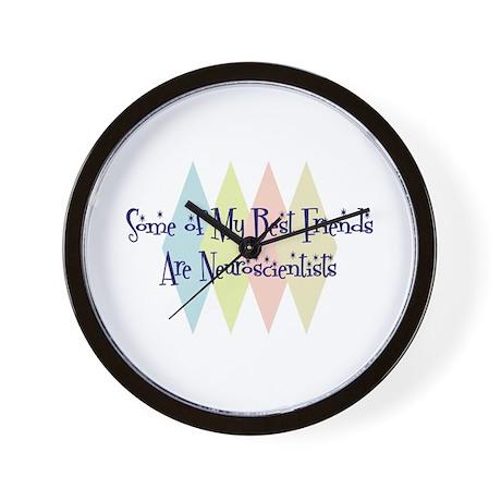 Neuroscientists Friends Wall Clock