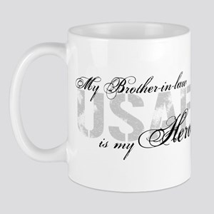 Brother-in-law is My Hero USAF Mug