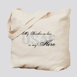 Brother-in-law is My Hero USAF Tote Bag