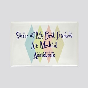 Medical Assistants Friends Rectangle Magnet