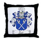Tonti Family Crest Throw Pillow