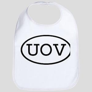 UOV Oval Bib