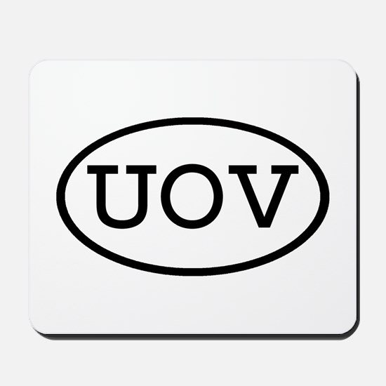 UOV Oval Mousepad