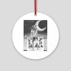 Thoth Ornament (Round)