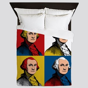 Washington Warhol Queen Duvet