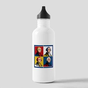 Washington Warhol Water Bottle
