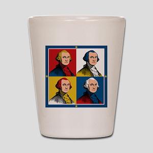 Washington Warhol Shot Glass