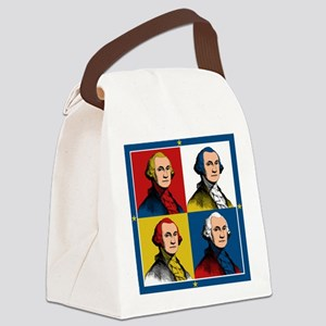 Washington Warhol Canvas Lunch Bag