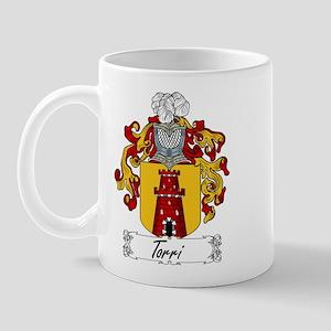 Torri Family Crest Mug