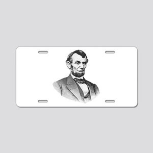Lincoln Aluminum License Plate